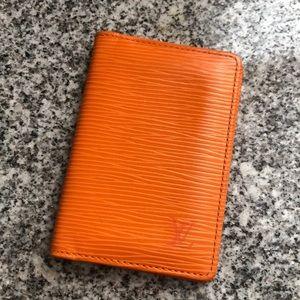 Louis Vuitton Epi Pocket Organizer-Limited Edition